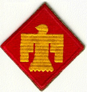 Shoulder Patch for 45th Infantry Division