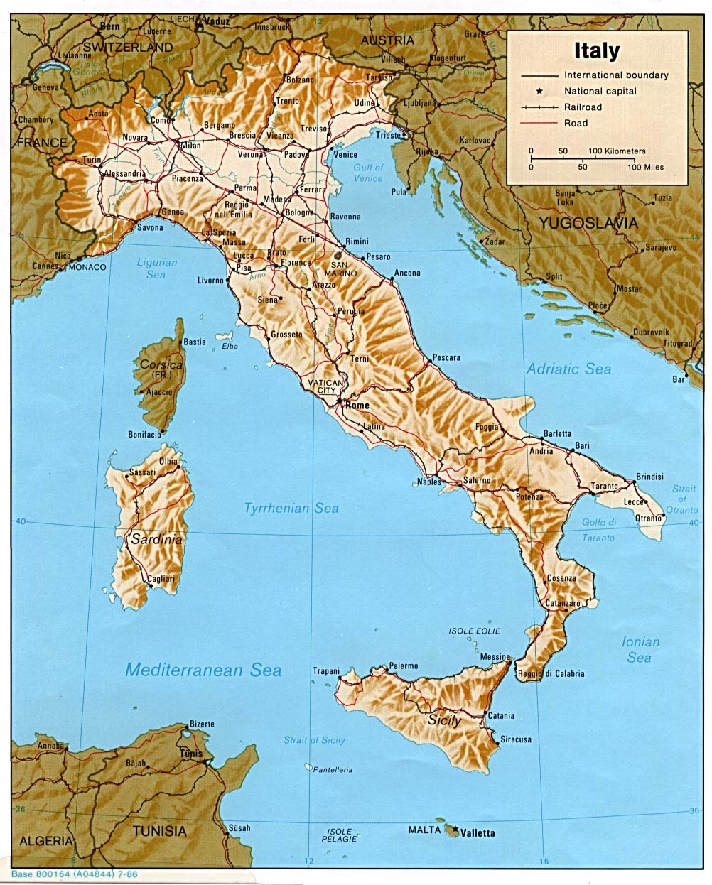 Army Issue Maps of the Italian Campaign